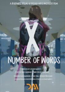 X Number of Words Poster