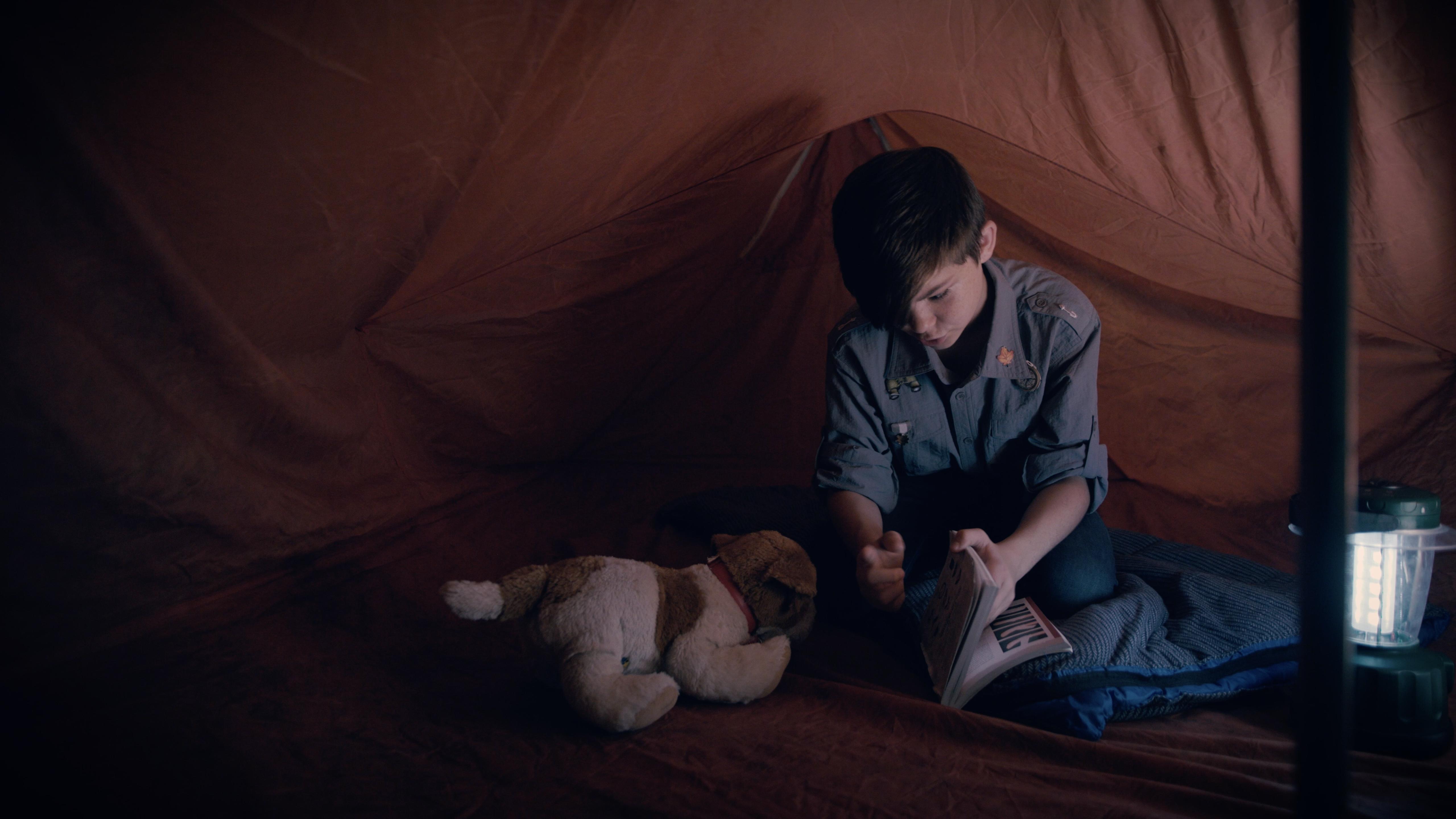Maxx In Tent