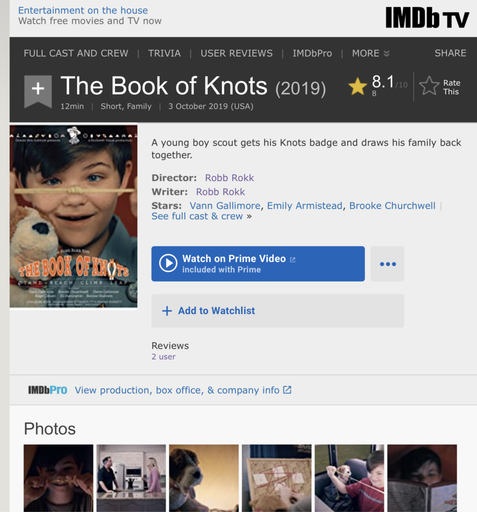 The Book of Knots IMDB