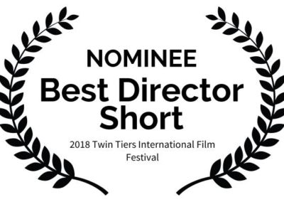 Outside Arcadia Twin Tiers International Film Festival Nominee Best Director