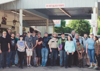 Upstream Cast and Crew